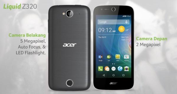 Acer Liquid Z320, Smartphone Paling Aman Untuk Anak