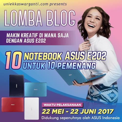 lomba blog ASUS E202