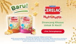 Biscuit Cerelac Nutripuffs