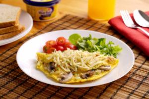 cara buat omelet